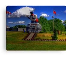 Happy Rock - HDR Canvas Print