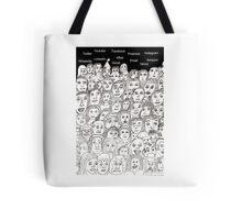 Mass Communication Tote Bag