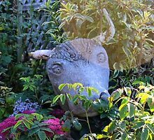 Bull garden ornament. by mosgol