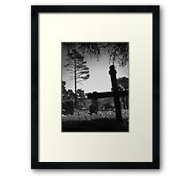 Cambria Yard Framed Print