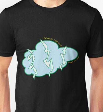 crack the sky, paint the earth Unisex T-Shirt