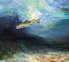 The Fly Taker - Underwater Scene by Pieter  Zaadstra