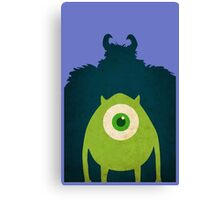 Monsters Welcome Canvas Print