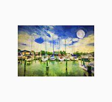 """Painted Harbor"" Unisex T-Shirt"