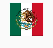 Flag of Mexico (augmented scale) with Coat of Arms (overlaid) T-Shirt