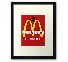 Monado's - i'm feelin it - SM4SH Framed Print