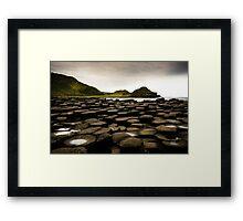 Giant's Causeway, Northern Ireland Framed Print