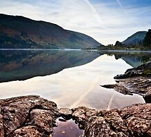 Autumnal Reflections - Thirlmere by David Lewins