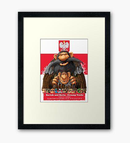 Bartek and Barta the Swamp Trolls Framed Print