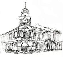 """Jinricksha station """"Singapore"""" by Jiezilla"""
