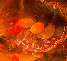 Eggs on The Shore by jean-louis bouzou