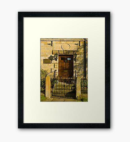 The Doorway 1784 Framed Print