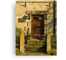 The Doorway 1784 Canvas Print