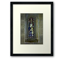 Window #3 - East Witton Church. Framed Print