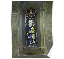 Window #3 - East Witton Church. Poster