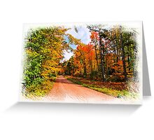 Fall in Wisconsin Greeting Card