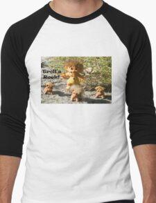 Troll's Rock! Men's Baseball ¾ T-Shirt