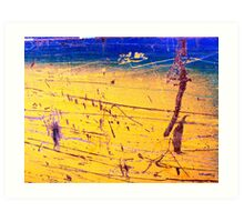 Beachside Frolics at St Therese  Art Print