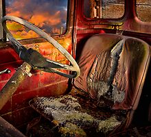 Old Bedford Truck by Ian English