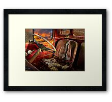 Old Bedford Truck Framed Print