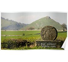 Thorpe Cloud: The Peak District Poster