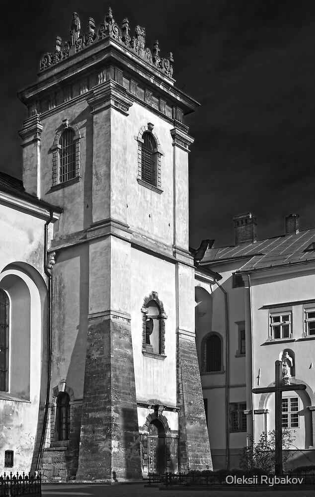 Benedictine - B/W by Oleksii Rybakov