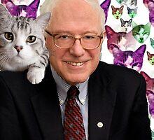 Subtle Bernie Sanders Print by BernieShirts