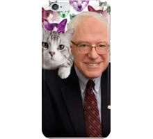 Subtle Bernie Sanders Print iPhone Case/Skin