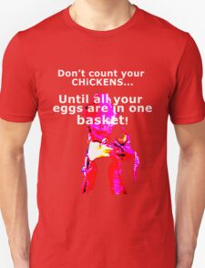 Chicken and Egg Unisex T-Shirt