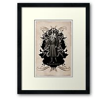 Mr Squid Framed Print