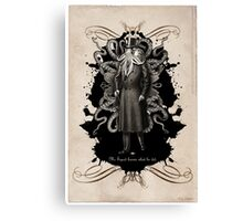 Mr Squid Canvas Print