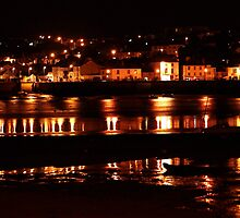 An evening view of Appledore, North Devon. by bared