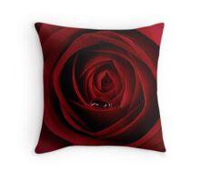 The Rose Droplet Throw Pillow