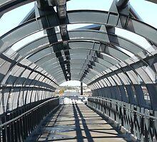 Walkway II, Williams Landing Railway Station by Joan Wild