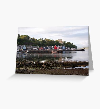 Tobermory, low tide Greeting Card