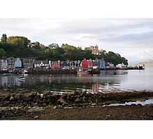 Tobermory, low tide Photographic Print