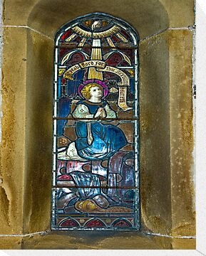 Window #4 - East Witton Church by Trevor Kersley