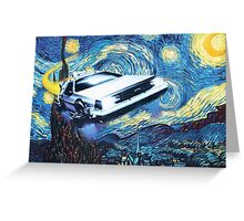 Back to the Starry Night Greeting Card