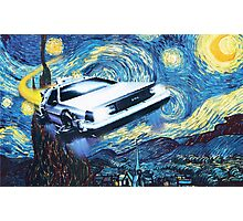 Back to the Starry Night Photographic Print