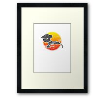 Star Empire Battle Cruiser D7 class - Light Framed Print