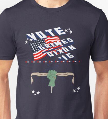 Vote Grimes/Dixon Unisex T-Shirt