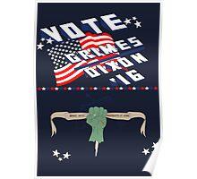 Vote Grimes/Dixon Poster