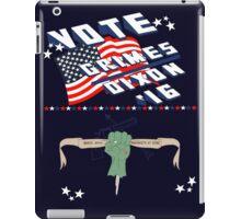 Vote Grimes/Dixon iPad Case/Skin