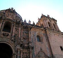 La Catedral - Cusco Peru by Angela Rutherford
