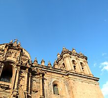 The Cathedral - Cusco, Peru by Angela Rutherford