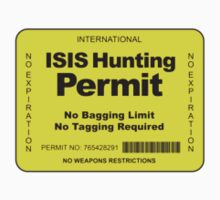 ISIS Hunting Permit by dtkindling