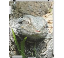 Curious Lizard - Bearded Dragon? iPad Case/Skin