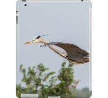 Great Blue Heron In Flight 2015-5 iPad Case/Skin