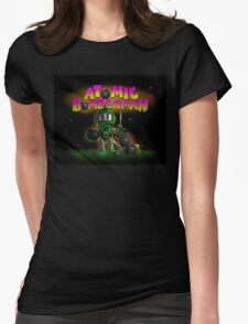 Atomic Bomberman Womens Fitted T-Shirt