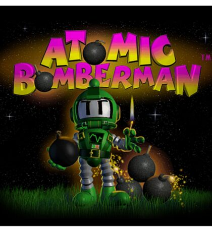 Atomic Bomberman Sticker
